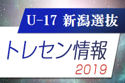 U-17新潟県選抜メンバー掲載!第23回国際ユースサッカーin新潟(7/13~7/15開催)