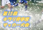 2019年度 【滋賀県】第15回キラリ杯争奪少年サッカー大会 優勝はガンバ大阪門真!