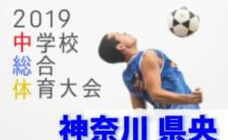 組合せ決定!7/20開幕!! 2019年度 第53回神奈川県中学校総合体育大会 県央ブロック大会