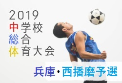2019年度 兵庫県中学校総合体育大会 サッカー競技大会 西播磨大会 情報提供お待ちしています!