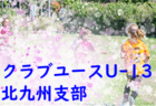 9/21,22,23  結果速報!2019年度福岡県ユース(U-13)サッカーリーグ 後期 ご入力お願いします!