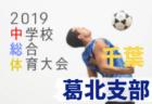 2019年度 千葉県中学校総合体育大会サッカー競技 印旛支部予選  優勝は佐倉中学校!代表3校決定!