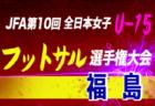 9/15,16結果募集 2019年度 全日本U-18女子サッカー選手権<福島県大会>