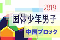 山口、広島、岡山が本大会出場決定!2019年度第74回国民体育大会 中国ブロック大会 少年男子の部