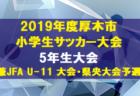 2019 関西トレセンリーグU-12 結果更新しました!次節は10/27!
