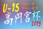優勝は上野ヶ丘中学校 2019年度第26回禅海フェスティバルサッカー大会 開催8/17.18 大分
