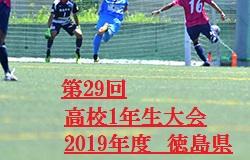 2019年度 第29回高校1年生大会 徳島県 優勝は徳島商業高校