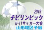 優勝はFC中山SS!2019年度 山形県チビリンピック山形地区予選