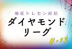 【大会結果募集!】7/27,28開催 2019地区トレセン対抗ダイヤモンドリーグU-13(秋田県)