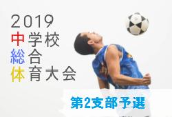 代表5校決定 2019年度東京都総体兼選手権大会第2支部予選 東京