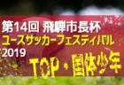 7/23~26組合せ掲載!第14回 飛騨市長杯ユースサッカーフェスティバル 2019(TOP・国体少年)