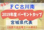 2019年度 三井のリハウスU-12サッカーリーグ東京 第8ブロック 前期終了