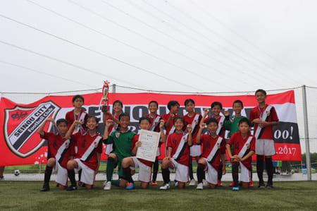 優勝は西濃シティ! 2019年度 フジパンカップJrサッカー クラブ大会 岐阜