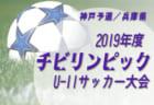 9/21,22結果募集 2019年度 東北U-14・U-13トレセンリーグ