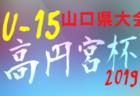 U-13サッカーリーグ2019県リーグ 島根 結果情報お待ちしています!次節10/19