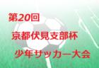2019年度 第20回京都伏見支部杯少年サッカー大会 組合せ掲載!8/24.25開催!