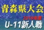 2019年度 東奥日報社杯争奪第31回青森県U-11サッカー大会(新人戦県大会)優勝はAC弘前!