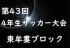 2019年度 第43回全日本少年サッカー大会記念イベント4年生サッカー大会 那賀ブロック予選 大会情報募集!