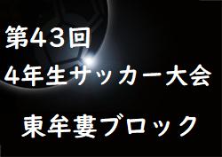 2019年度 第43回全日本少年サッカー大会記念イベント4年生サッカー大会 東牟婁ブロック予選(和歌山県) 優勝は串本JFC!