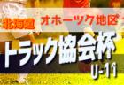 8/24結果速報! 2019トラック協会杯 第31回全道少年団U-11サッカー大会 北海道十勝地区予選