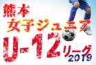 高円宮杯U-18サッカーリーグ2019 神戸市リーグ【兵庫】全日程終了 1部優勝は神戸星城A!