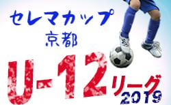 セレマカップJFA U-12サッカーリーグ2019 後期 地域リーグ 情報お待ちしています!