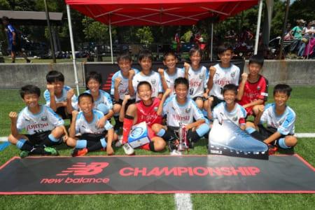 優勝は川崎フロンターレ!! ニューバランスチャンピオンシップ2019(NEW BALANCE CHAMPIONSHIP 2019)U-12