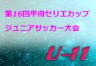 結果情報募集!JFA U-12サッカーリーグ2019福島 in 県中
