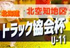 2019トラック協会杯 第31回全道少年団U-11サッカー大会 北海道旭川地区予選 優勝はトロンコ、コンサドーレ東川!
