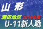 2019年度 2020 JA全農杯全国小学生選抜サッカーIN滋賀(U-11チビリンピック) 湖西ブロック予選 県大会出場4チーム決定!