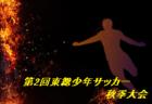 各リーグ優勝チーム決定!2019年度第2回東総少年サッカー秋季大会6年生 千葉