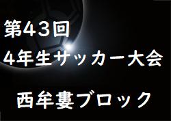 2019年度 第43回全日本少年サッカー大会記念イベント4年生サッカー大会 西牟婁ブロック予選 (和歌山県)組合せ掲載!開催9/29!