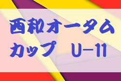 2019年度 第2回西和オータムカップ U-11(奈良県開催) 大会情報募集!開催9/21,22!