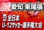 2019 JFA U-12サッカーリーグ in 滋賀 甲賀ブロック後期リーグ A.Z.R(青)、甲南第一、希望ヶ丘、水戸、菩提寺 県大会出場決定!