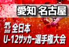 2019年度 第4回四国女子ユース(U-15)サッカー選手権徳島県大会 10/27結果速報!情報お待ちしています!