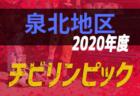 2019年度 第13回卒業記念サッカー大会 MUFGカップ【泉北地区予選】(大阪)中央大会出場全チーム決定!