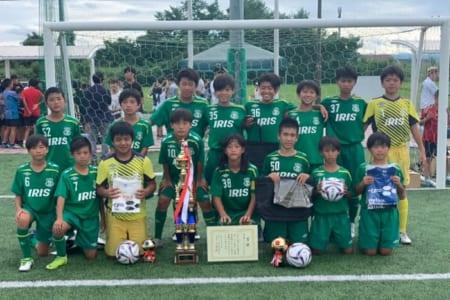 優勝はアイリスFC住吉(大阪)2019年度 第23回 国際交流サッカー大会U-12 前橋市長杯 群馬開催