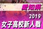 2019年度 愛知県 高校新人体育大会 女子サッカー競技  新人戦  1/18,19結果速報!情報お待ちしています!