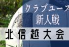 優勝はアルビレックス新潟!2019年度 第14回 北信越クラブユースサッカー新人(U-14)大会
