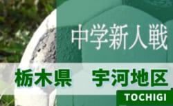 9/20開幕!組合せ募集!! 2019年度 宇河地区新人大会サッカー大会 栃木