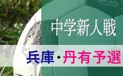 2019年度 丹有中学校サッカー新人大会 10/19,20開催 支部予選情報募集中