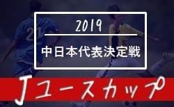 2019Jユースカップ 中日本地域代表決定戦 中日本代表は愛知FC!