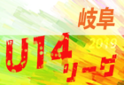 2019年度 第13回卒業記念サッカー大会 MUFGカップ【北河内地区予選】(大阪) 11/17結果速報!