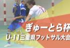 優勝はセブン能登!2019年度 JFA全日本U-15フットサル選手権石川県大会