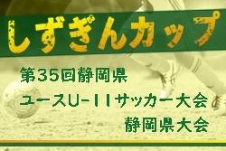 【大会中止】2019年度 しずぎんカップ 第35回静岡県ユースU-11サッカー大会 静岡県大会