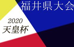 次回3/22!2020年度 福井県サッカー選手権大会 兼 天皇杯 福井県代表決定戦