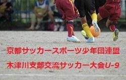 2019年度 第29回京都サッカースポーツ少年団連盟 木津川支部交流サッカー大会U-9 結果情報お待ちしています!