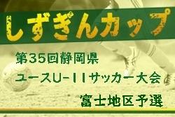 2019年度 第12回エコカップ(兼)しずぎんカップ 東部・富士予選 情報お待ちしています!