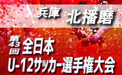 2019年度 JFA第43回全日本U-12サッカー選手権大会 兵庫大会 北播予選