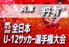 2019年度 関東トレセン交流戦U-13  都県 vs Jアカデミー戦 9/22第1節全結果掲載!第2節は10/27!